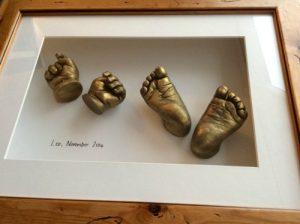 pair of feet & hands